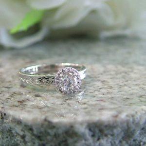 Custom Diamond Engagement Ring Columbus