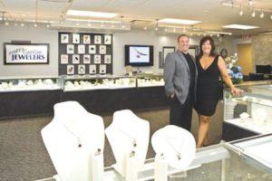 Scott and Beth Cevasco Dublin Ohio Engagement Rings