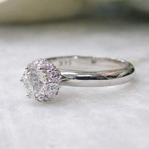 Hidden Halo engagement ring trends