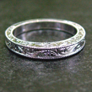 Hand Engraved Wedding Band Dublin Ohio
