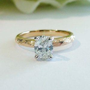 lab grown diamonds engraved band dublin ohio