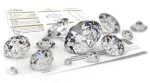 Loose diamonds at Scott's in Dublin, Ohio