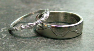 Matching Engraved Wedding Bands Columbus Ohio