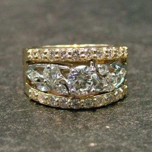 Custom Diamond Wedding Ring Restyle