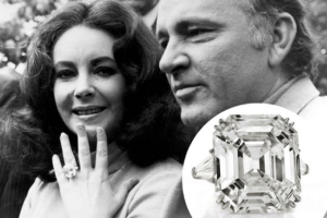 Elizabeth Taylor diamond ring