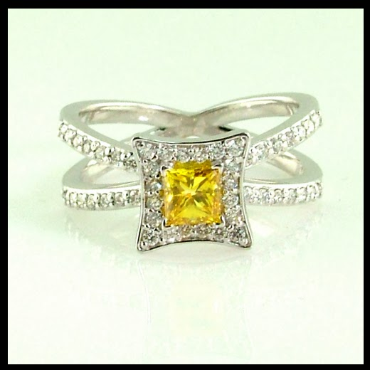 The Story Behind The Yellow Diamond Ring.
